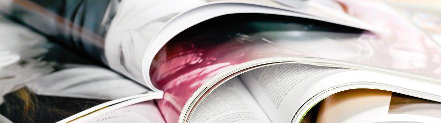 verschiedene Zeitschriften